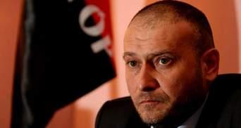 Ярош назвал условия прекращения конфликта в Мукачево