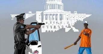 Хто з чим бореться: сатиричні малюнки поліції різних країн світу