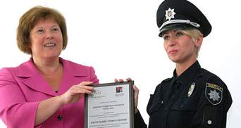 Благодаря женщинам-патрульным полиция получила необычную награду