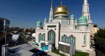 У Путина произошел конфуз во время открытия крупнейшей мечети в Европе