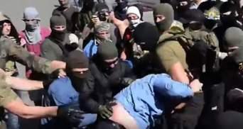 Задержали харьковского активиста, которого подозревают в избиении милиционера