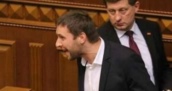 Скандалист Парасюк подрался с руководителем луганской милиции
