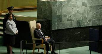 Очередной конфуз Путина с креслом