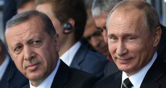 Путіну пригрозив Президент Туреччини