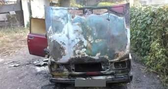 Журналісту в Полтаві спалили машину