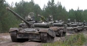 Под Мариуполем замечено танки боевиков