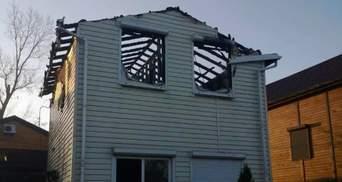 Сім'ї опального екс-регіонала спалили маєток