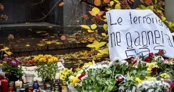 Назвали імена трьох терористів, причетних до терактів у Парижі