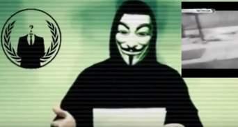Anonymous пригрозили помстою за теракти у Парижі