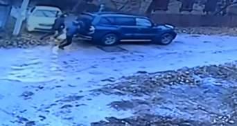 Авто бізнесмена розстріляли на Кіровоградщині