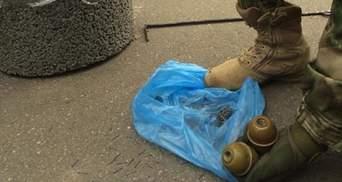 На протесті у Кривому Розі знайшли гранати