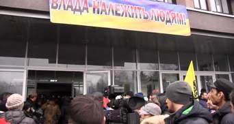 Суд удовлетворил требования протестующих в Кривом Роге