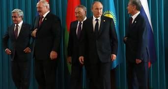 Путін хоче поговорити з Лукашенком та Назарбаєвим про асоціацію України та ЄС