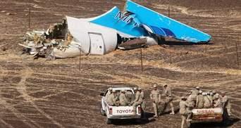 Єгипет зробив нову заяву щодо падіння російського літака
