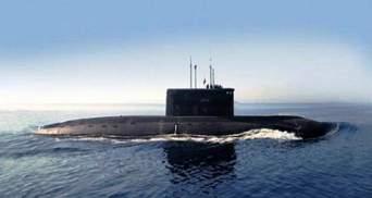 Росія пригнала свій підводний човен до окупованого Криму