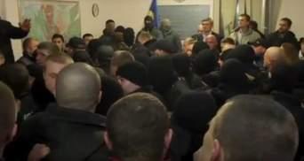 Силовики штурмуют сторонников Корбана. Лидер УКРОПа потерял сознание