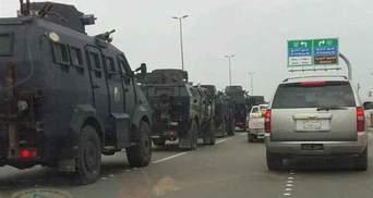 В Саудовской Аравии беспорядки из-за массовой казни, в ход пошли БТРы