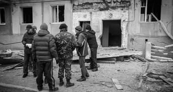Фотосравнения: Мариуполь после обстрела террористов и сегодня