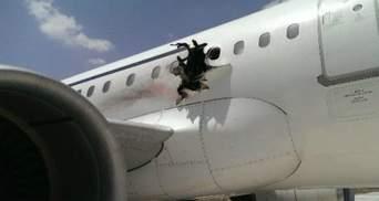 Появилось видео со взрыва самолета в Сомали