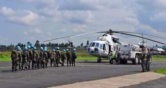 Україна відправляє 250 миротворців на ротацію в Африку
