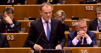 Якщо Британія вийде з ЄС — це назавжди змінить Європу, — Туск