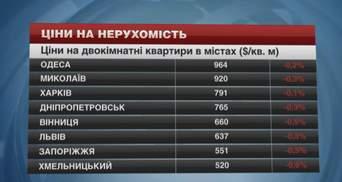 Квартиры в областных центрах Украины становятся более доступными