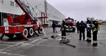 МЧСники учились тушить масштабный пожар под Киевом