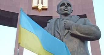 У Львові замінували Бандеру