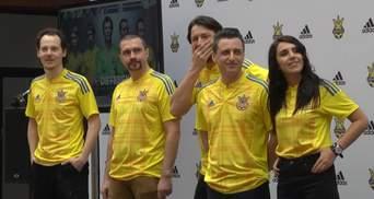 Джамала та інші зірки презентували нову форму збірної України