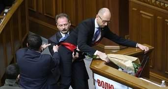 Барну после громкого конфликта с Яценюком снова приняли в фракцию БПП