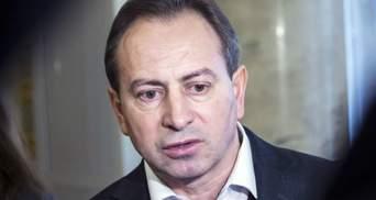 Томенко подал в суд за лишение его мандата