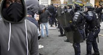 В Париже новые беспорядки: задержаны 130 человек