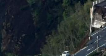 З'явилось відео страшних наслідків землетрусу у Японії: є загроза вулкану і цунамі