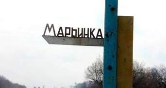 Террористы в Марьинке наведываются на территорию, контролируемую ВСУ