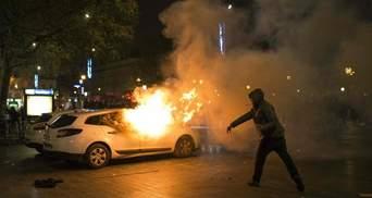В Париже снова неспокойно — арестовали около 12 человек