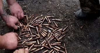Военные сняли на видео эпицентр боя под Марьинкой