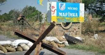 Боевики ранили украинского военного под Марьинкой