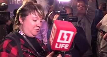 Пропагандистам из LifeNews не дали задать вопрос Джамале: видео инцидента