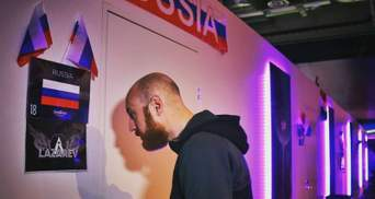"""Российская делегация """"аннексировала"""" украинскую гримерку на Евровидении"""