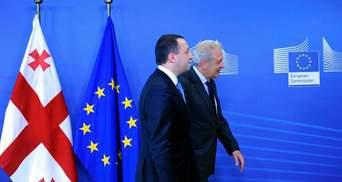 Грузия на много опередила Украину в ассоциации с Евросоюзом