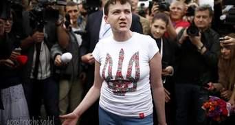 Триумфальное возвращение символа сопротивления Украины, — западные СМИ об освобождении Савченко