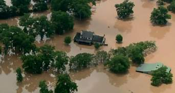 Техас страдает от мощного наводнения