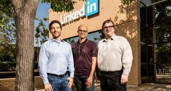 Microsoft за фантастичну суму купив LinkedIn