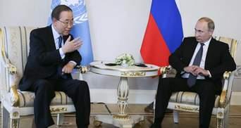 Из-за заявления генсека ООН назревает дипломатический скандал с Украиной