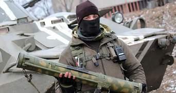 Террористы на Донбассе во время обстрелов начали использовать тяжелое вооружение