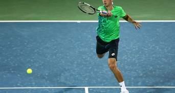 Стаховский сделал рывок в рейтинге теннисистов