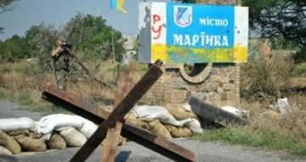 В Марьинке бойцы дали отпор врагу