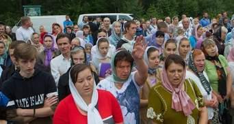 Ходу московського патріархату не пустили в центр Житомира