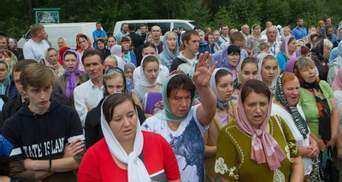 Ход Московского патриархата не пустили в центр Житомира