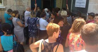 КВУ заявляє про втечу керівництва ОВК у 114-му окрузі на Луганщині